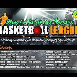 Summer Madness Basketball Standing and Schedule (JUNIORS)