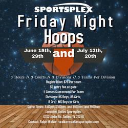 Friday Night Hoops HS Boys Schedule
