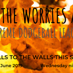 Leaf The Worries At Home Extreme Dodgeball League