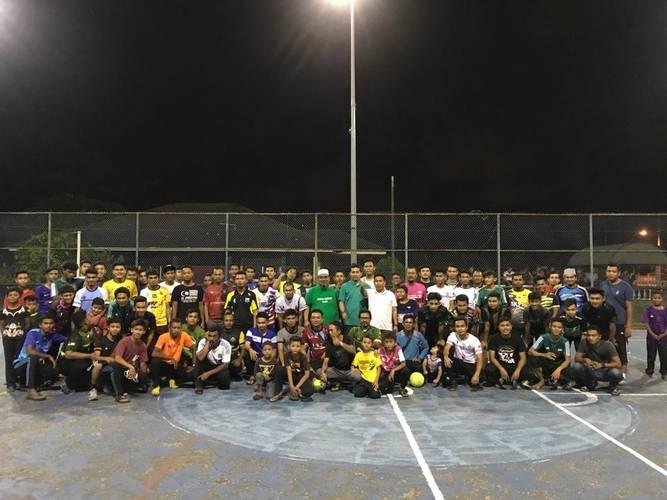 Futsal Rentap Sahur 2019-Anjuran Pemuda Paya Berenjut