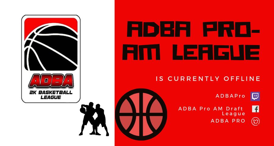 ADBA Season 5 Schedule