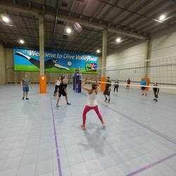 Session 4 '20 - Tuesday Intermediate Coed 6's Volleyball