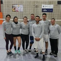 Session 4 '20 - Tuesday Advanced Coed 6's Volleyball