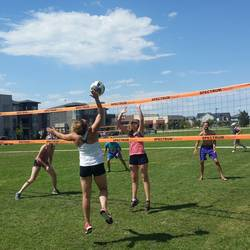 Session 4 '20 - Thursday Grass Coed 4's Volleyball