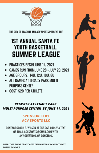 Santa Fe Youth Basketball Summer League 2021