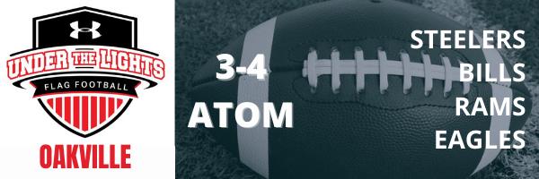 Oakville UA Flag Football 3-4 ATOM Division