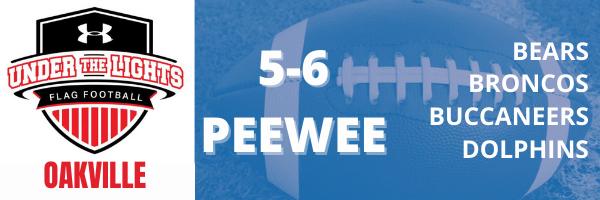 Oakville UA Flag Football 5-6 PEEWEE division