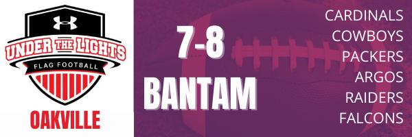 Oakville UA Flag Football 7-8 BANTAM division