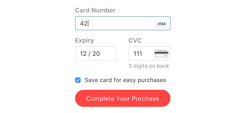 card form