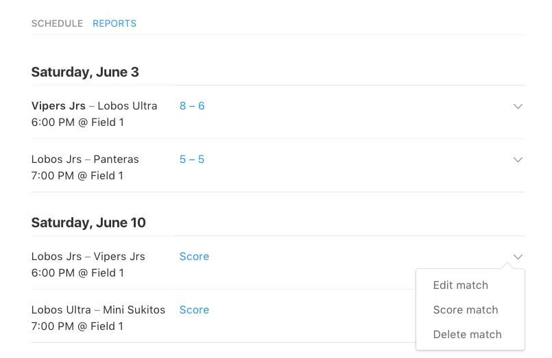 new schedule design