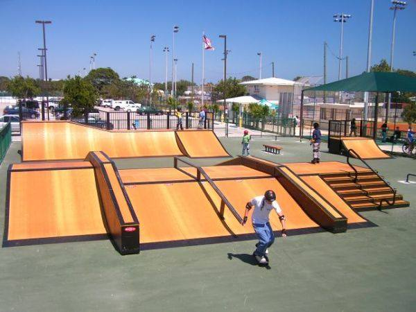 Florida Skateparks Map.Key Largo Skate Park Map Of Play