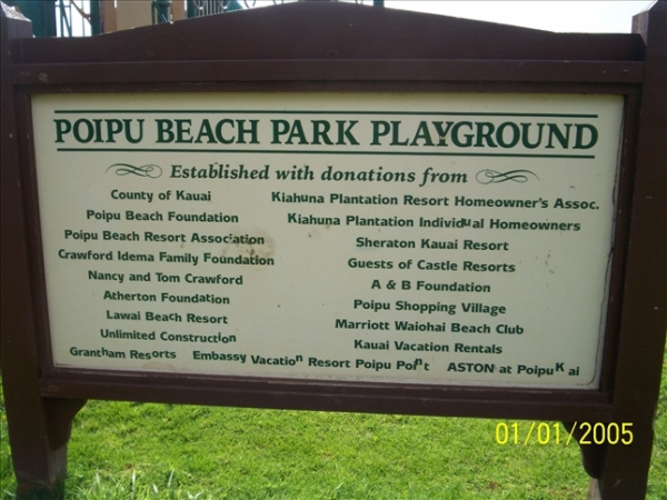 Poipu Beach Park Playground | Map of Play