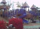 Blue Slide Playground