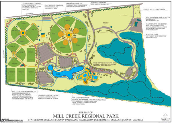 Mill Creek Park | Map of Play