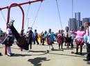 Detroit Riverfront Playpark at Rivard Plaza