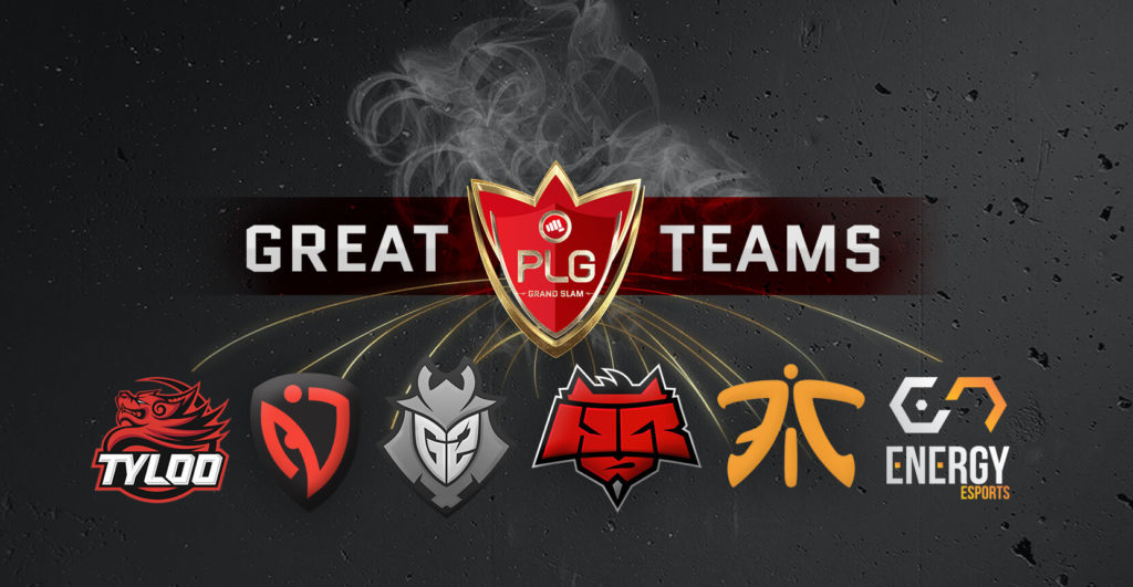 CSGO Pro teams at PLG Grand Slam