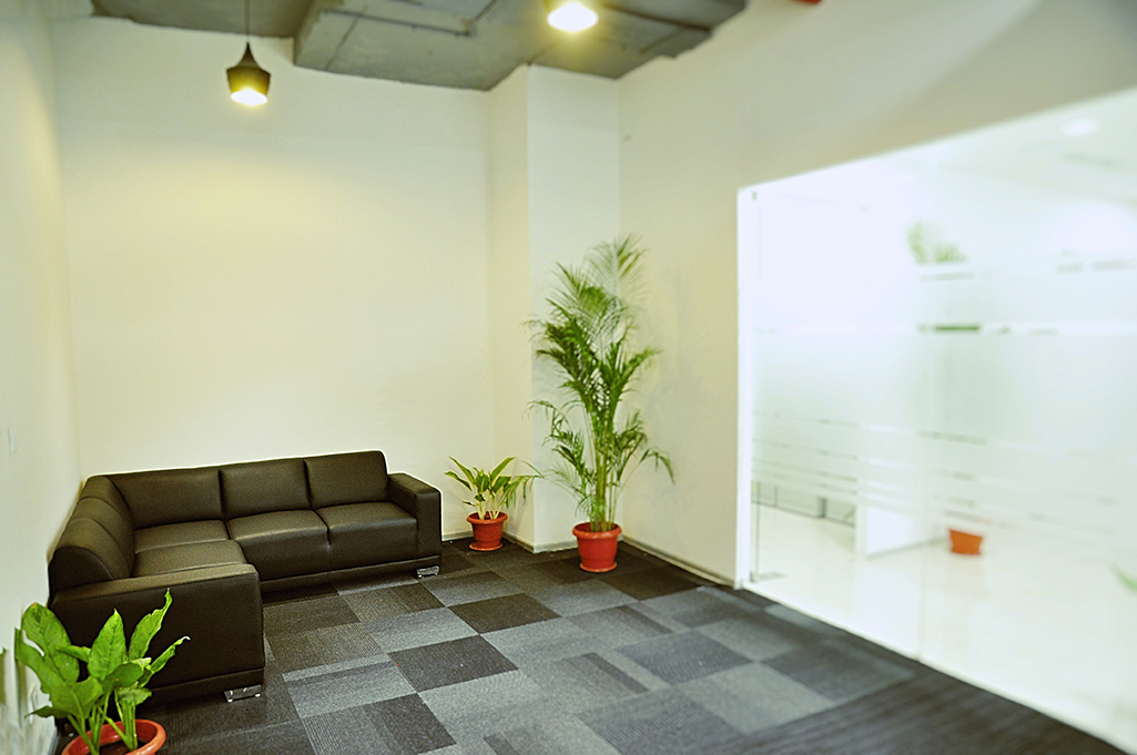 Plivo office waiting room