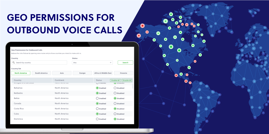 Announcing Geo Permissions for Outbound Voice Calls