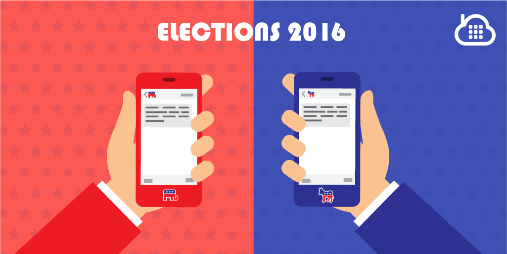 How SMS Text Messaging Won the 2016 US Elections