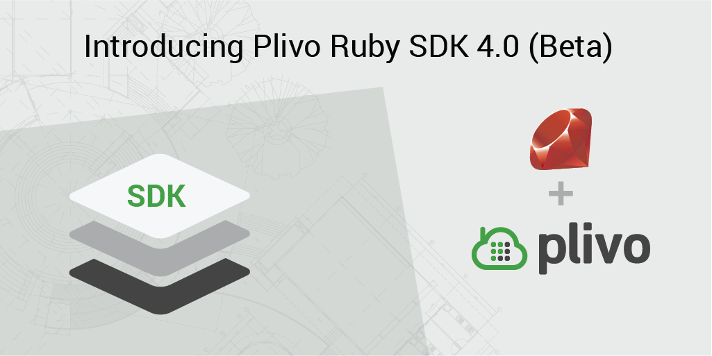 Introducing Plivo Ruby SDK 4.0 (Beta)