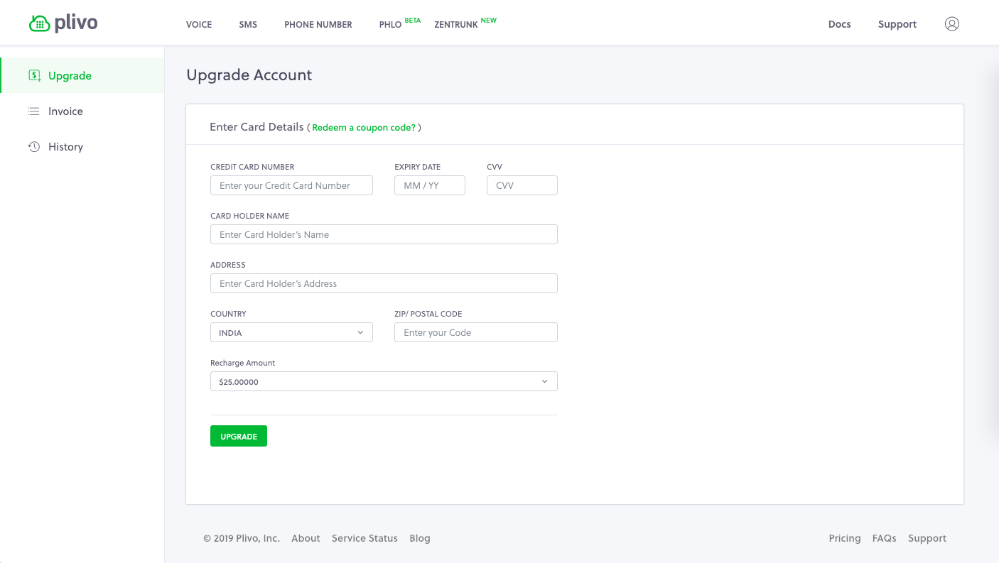 Banner: Payment UI moved into Accounts