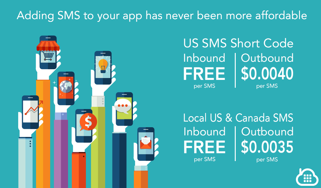 Free Incoming SMS for All US Short Codes and 46% drop in Outbound