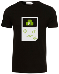 Plivo Game Boy T-shirt