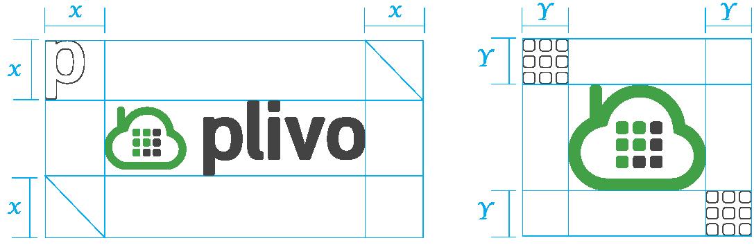 Plivo Logo Spacing