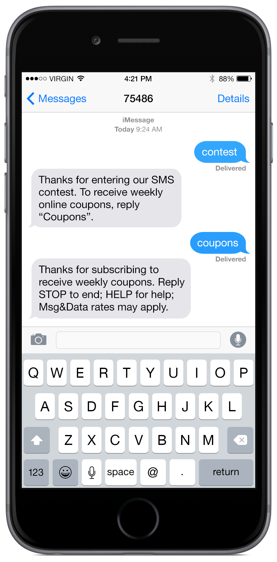 text messaging and send Learn about text and picture messaging services text messaging text messaging (sms) is a two-way mobile messaging service that allows you to send and.
