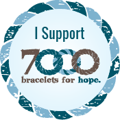 7000 i support 7000 bracelets for hope medium