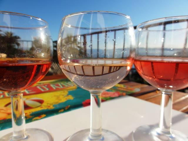 The many shades of rosé! (Chrissie from south of France)