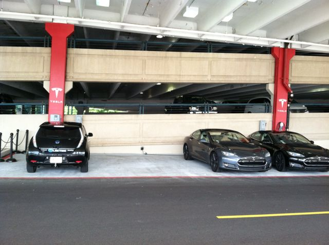 Green Parking Garage 1A- King of Prussia Mall   PlugShare