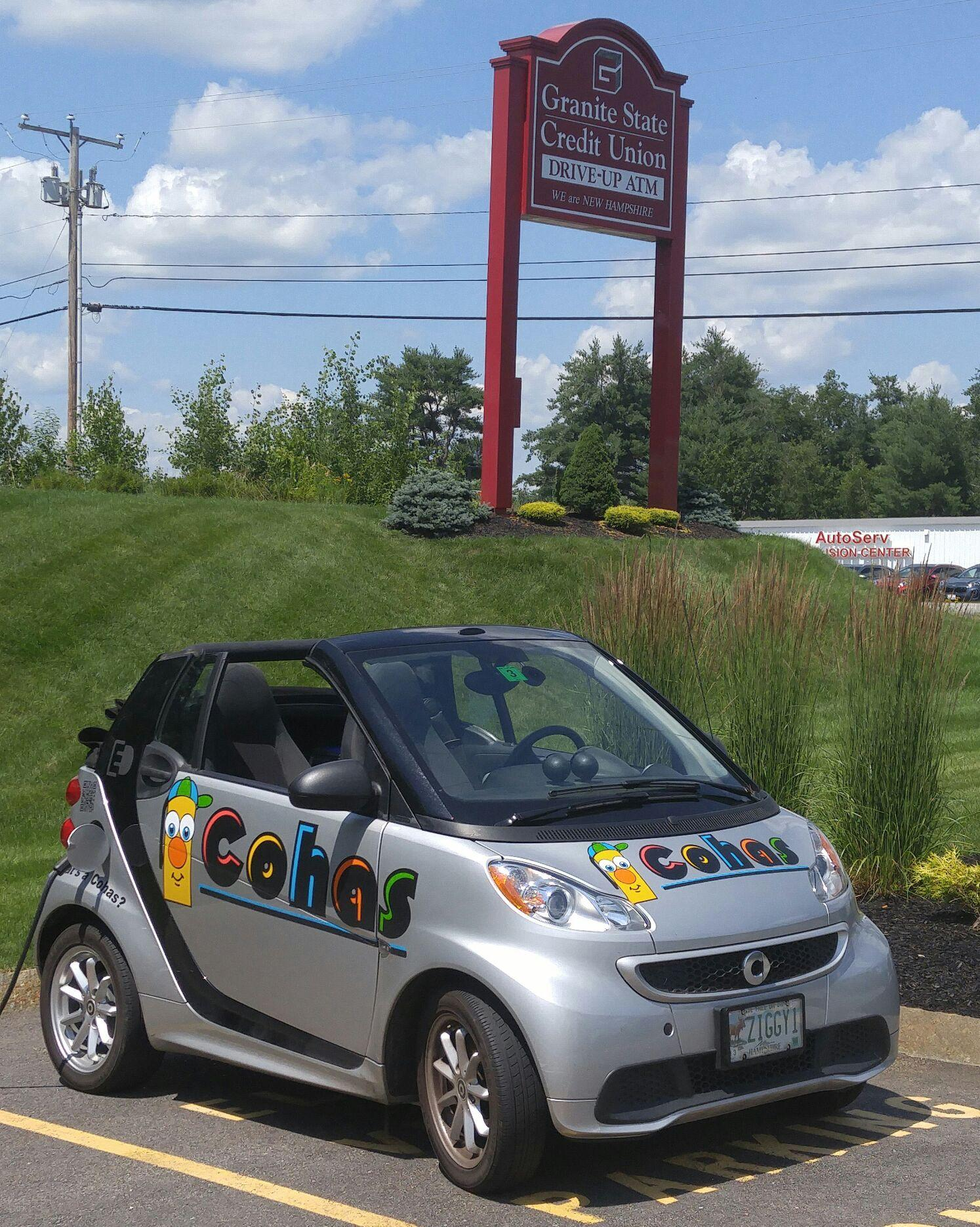 Granite State Credit Union Free Electric Car Charging 62 Check