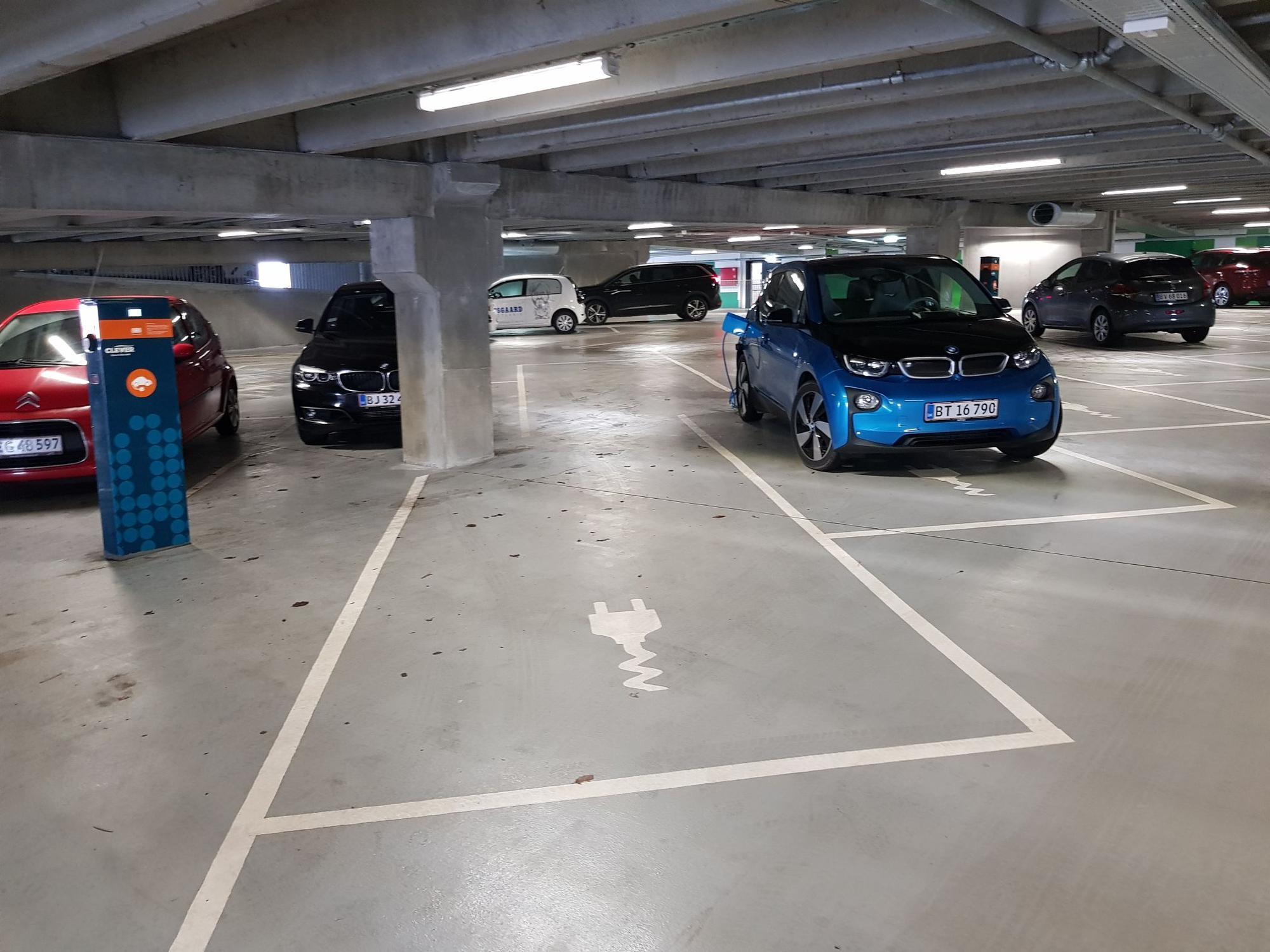 drive now parkeringshus