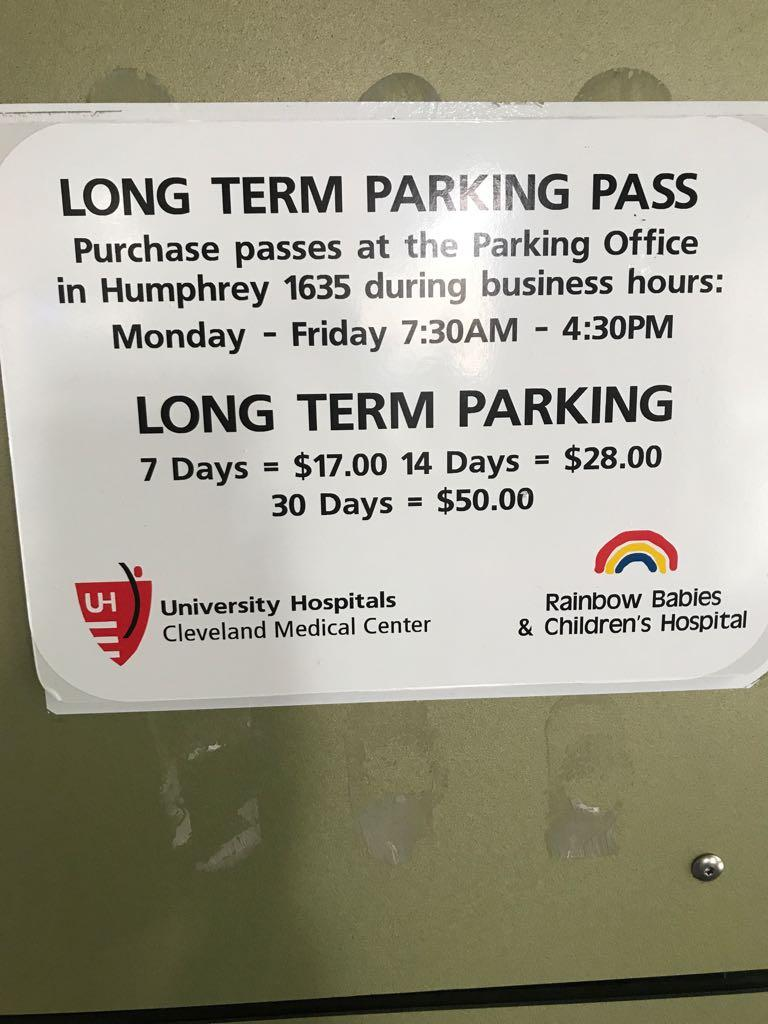 University Hospitals - UH Drive Parking Garage | PlugShare