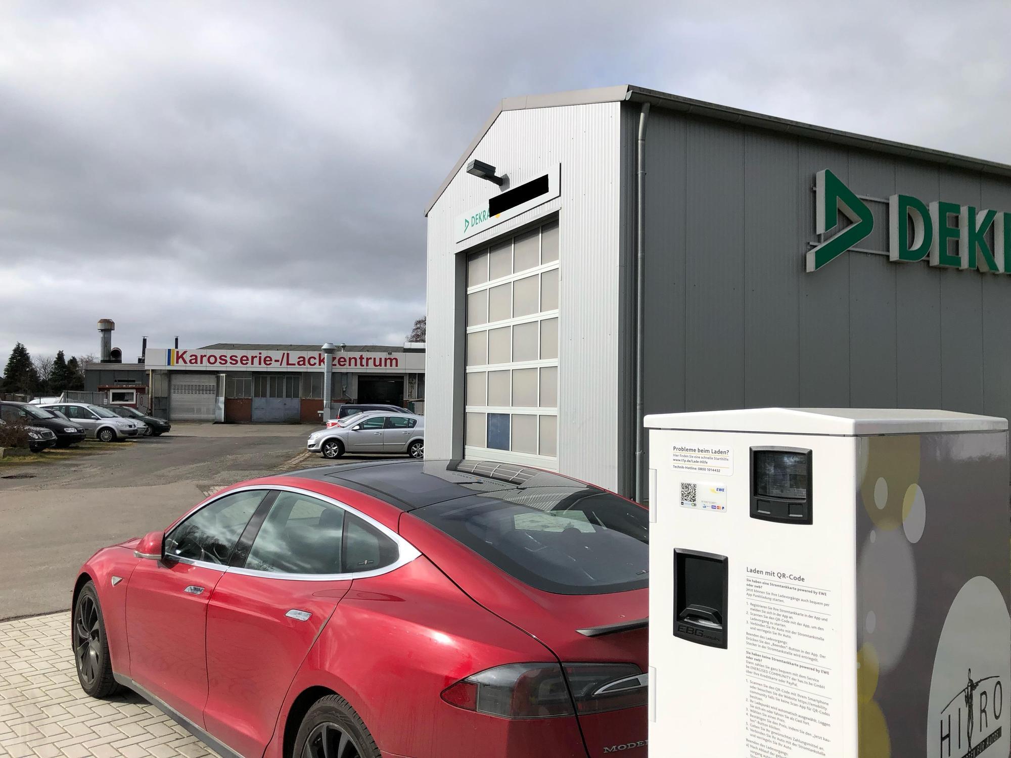 DEKRA bei Autohaus Hiro | PlugShare