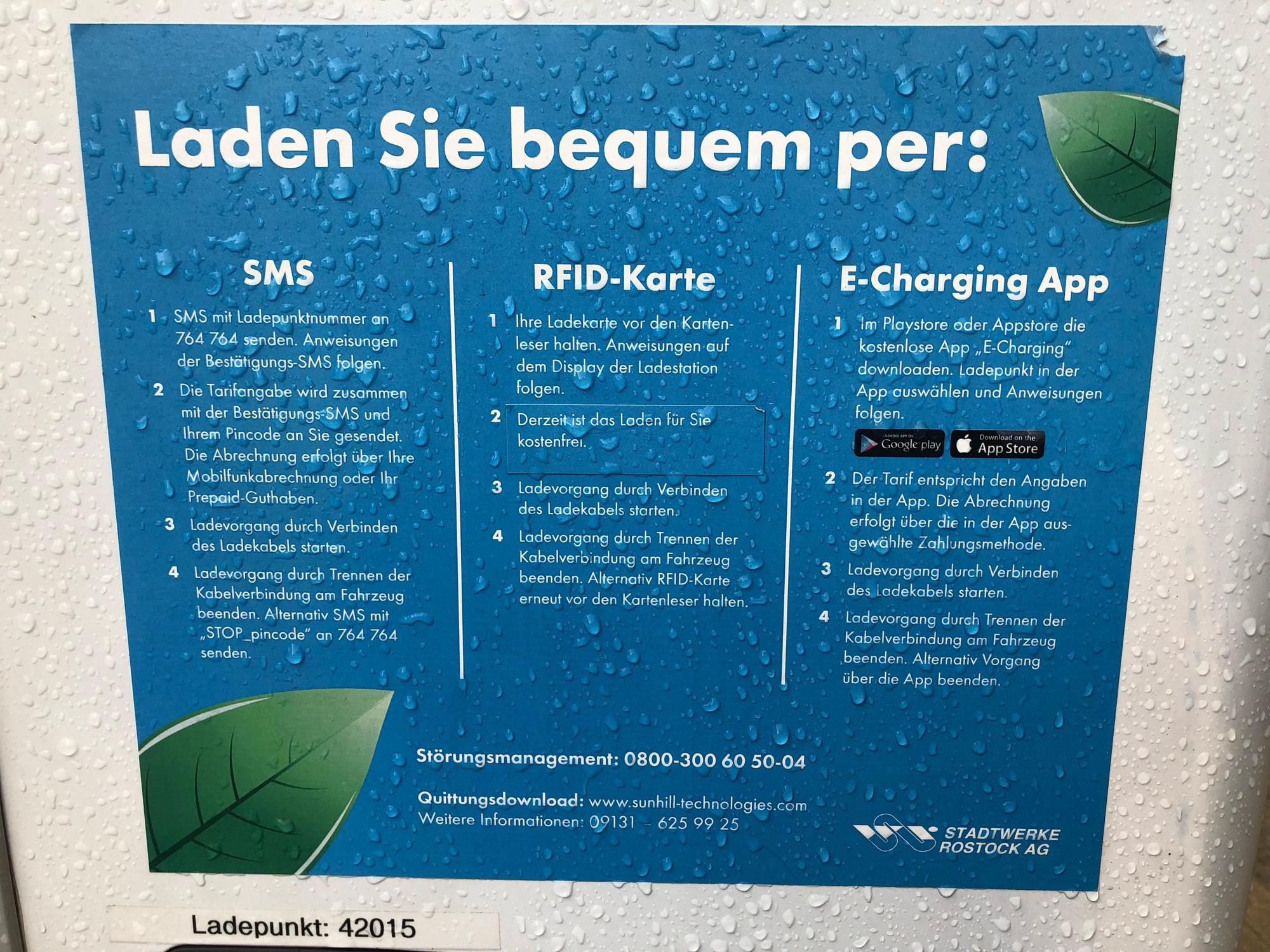 Playstore Karte.Charging Station Stadtwerke Rostock Ag Plugshare