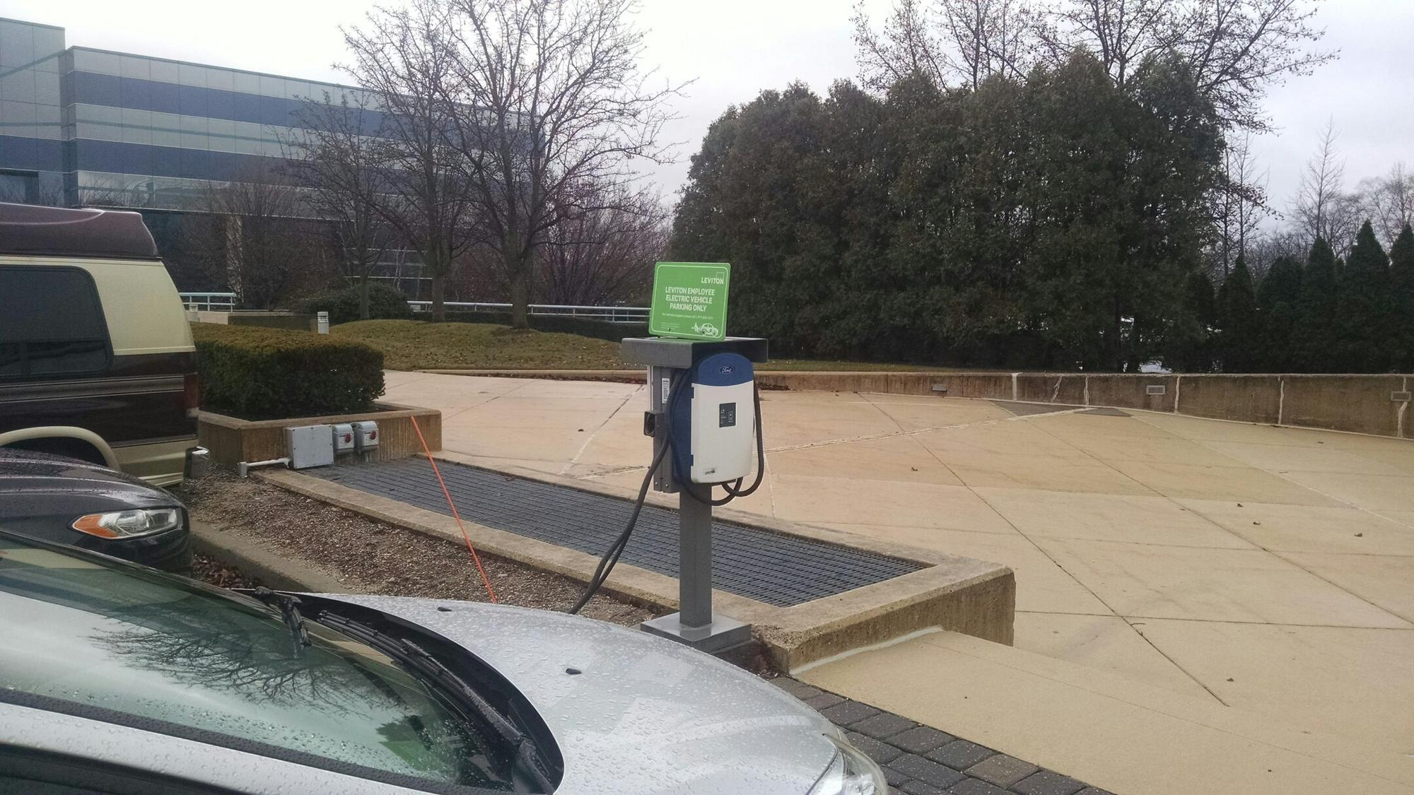 Leviton Corporate Headquarters - Free Electric Car Charging - 62 ...