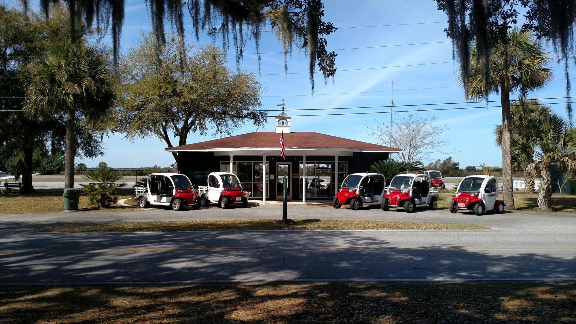 Red Bug Motors Jekyll Island Airport Free Electric Car Charging - Jekyll island car show