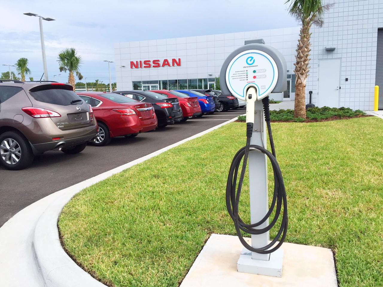 Daytona Nissan - Free DC Fast Electric Car Charging - 93 Check-ins ...