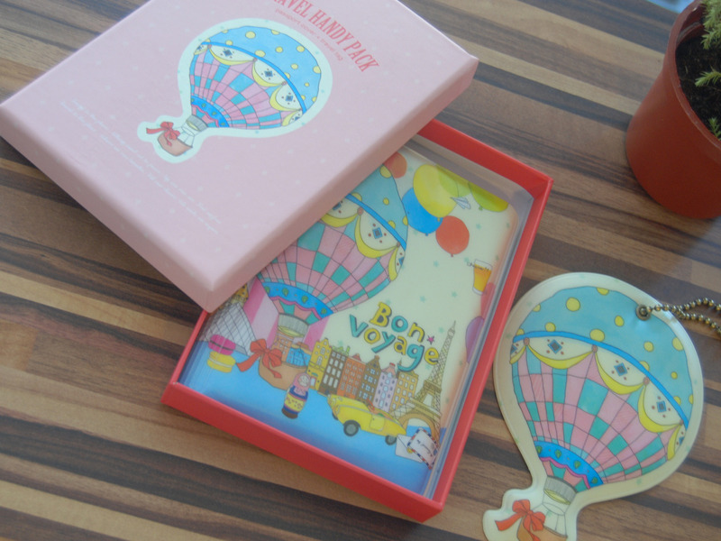 Balloon Tag: [Dimanche] Passport Cover Name Tag Travel Accessory Kit