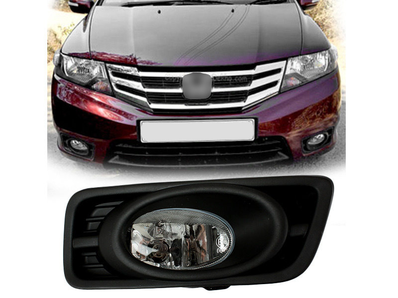 clear fog light with cover wiring switch kit for honda. Black Bedroom Furniture Sets. Home Design Ideas