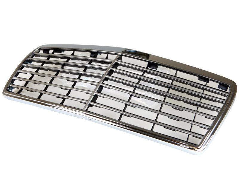 w124 93 95 e class chrome grille grill mercedes benz. Black Bedroom Furniture Sets. Home Design Ideas