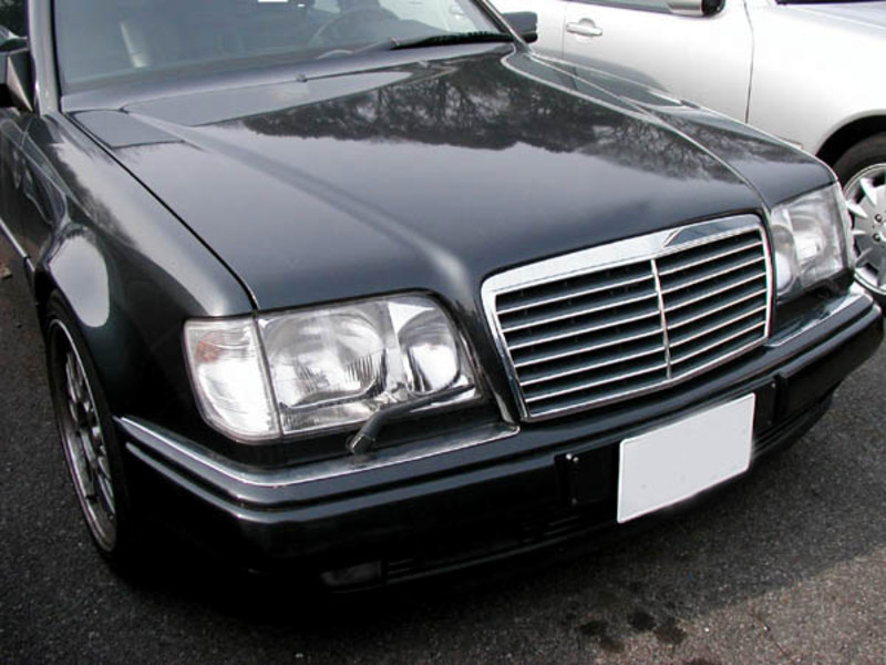 94 95 mercedes benz w124 e class s600 black grille amg for Mercedes benz s600 ebay