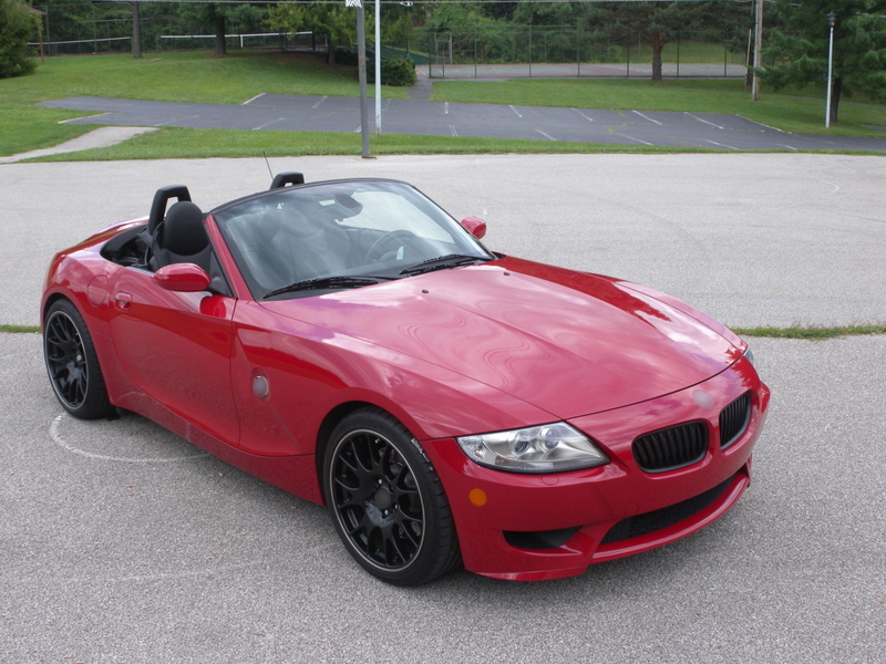 Bmw Z4 E85 E86 Roadster Coupe Convertible Matte Black