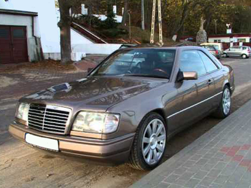 Details about * All Chrome Front Grille For Mercedes Benz W124 E-Class 300e  260e 400e 500E