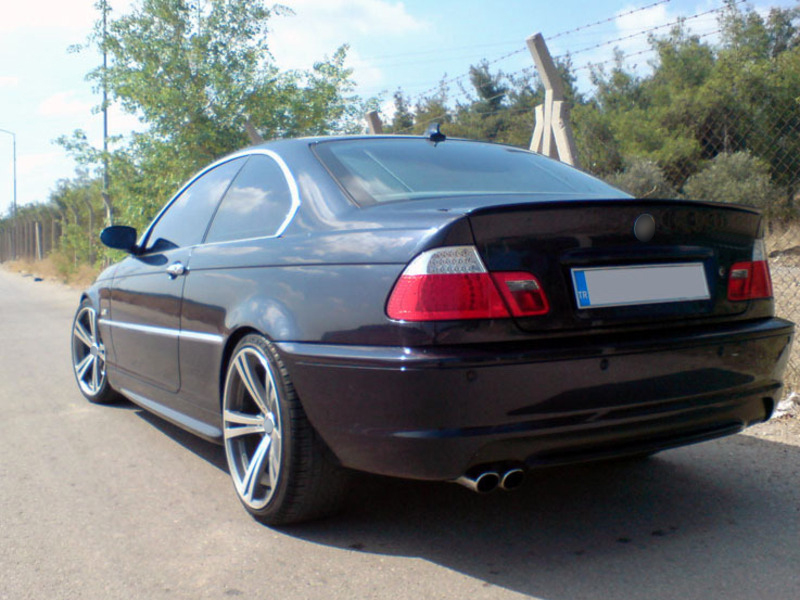 Details About Fyralip Painted Trunk Lip Spoiler For Bmw E46 Sedan Coupe M3 Orient Blue 317