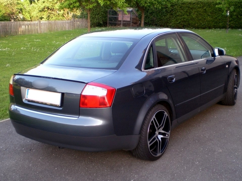 painted audi a4 s4 b6 saloon boot lip spoiler wing dolphin gray metallic lx7z ebay. Black Bedroom Furniture Sets. Home Design Ideas