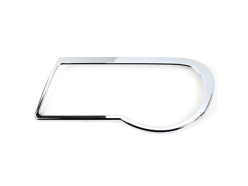 Head Light Front Lamp Bezel Cover Chrome Trim For Chrysler 300C Sedan 05-10