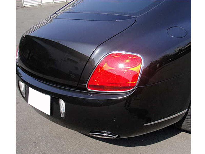 * Chrome Tail Light Trim Bezel Cover For Bentley Continental GT GTC 2D 03-10
